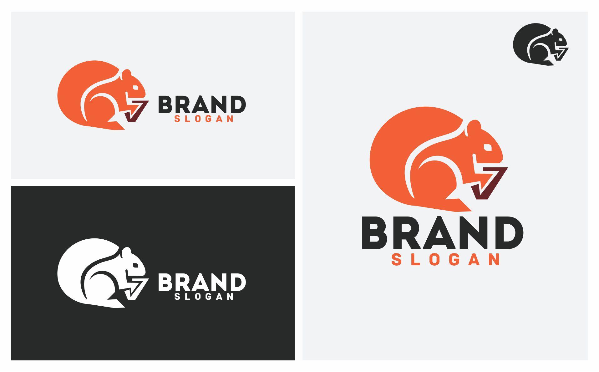 Squirrel Logo Template Big Screenshot