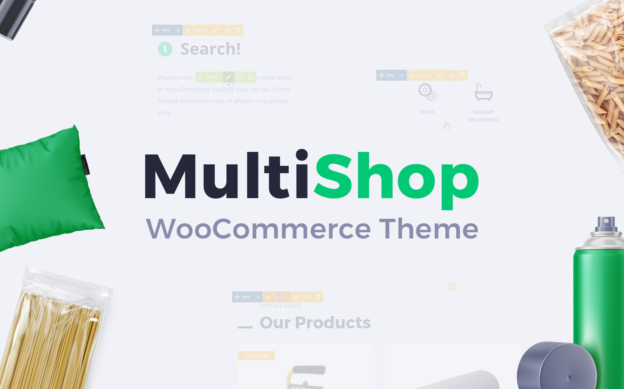 Multishop - Responsive WooCommerce WordPress Theme WooCommerce Theme Big Screenshot