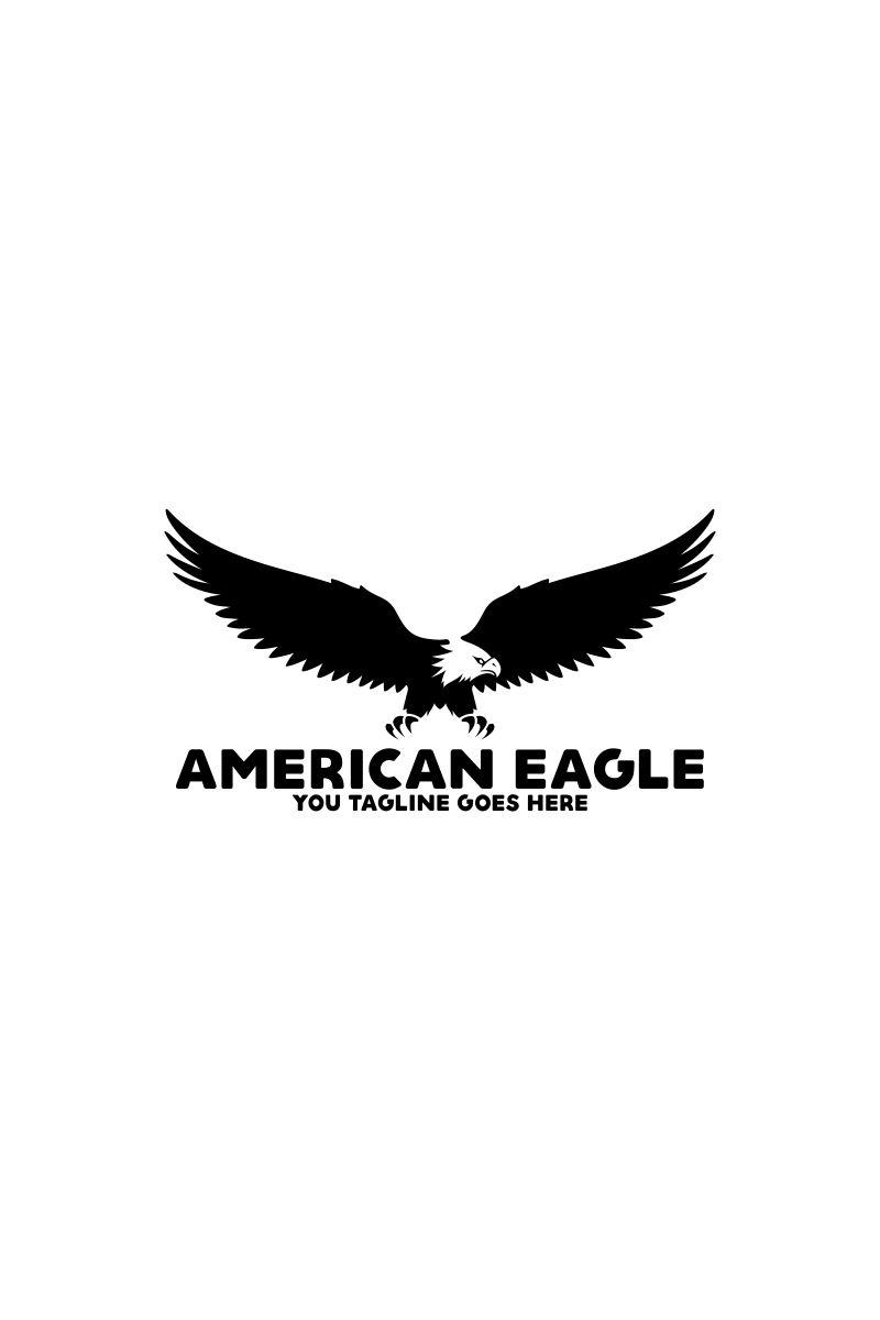 American Eagle Logo Template Big Screenshot