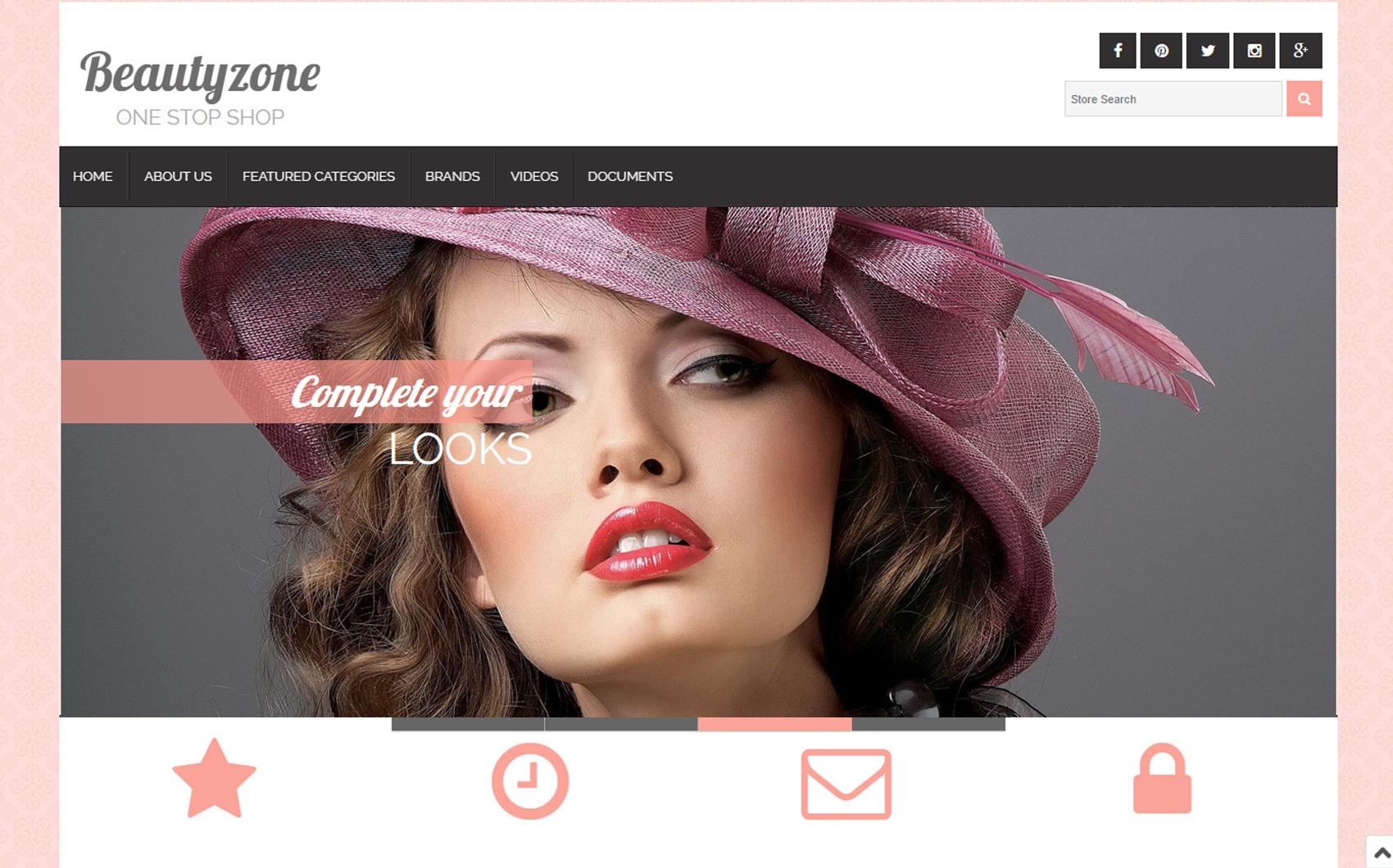 Kadın Modası Ebay Template Büyük Ekran Görüntüsü