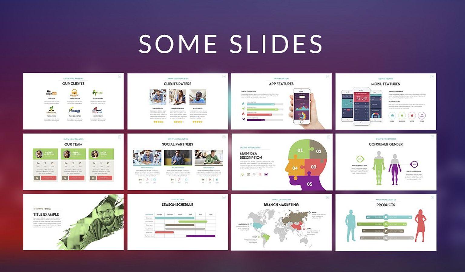 Vair - PowerPoint Presentation Template Big Screenshot