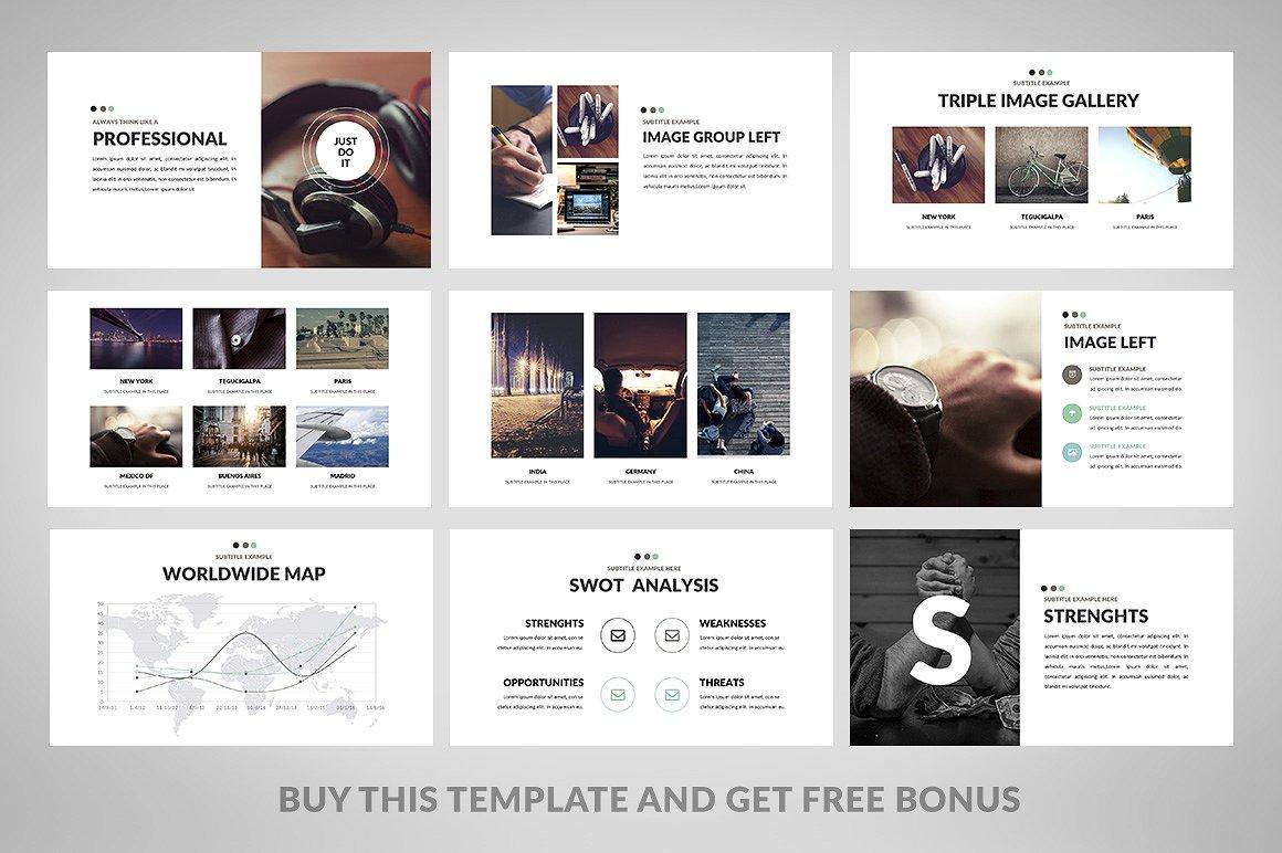 Minimix - PowerPoint Presentation Template Big Screenshot