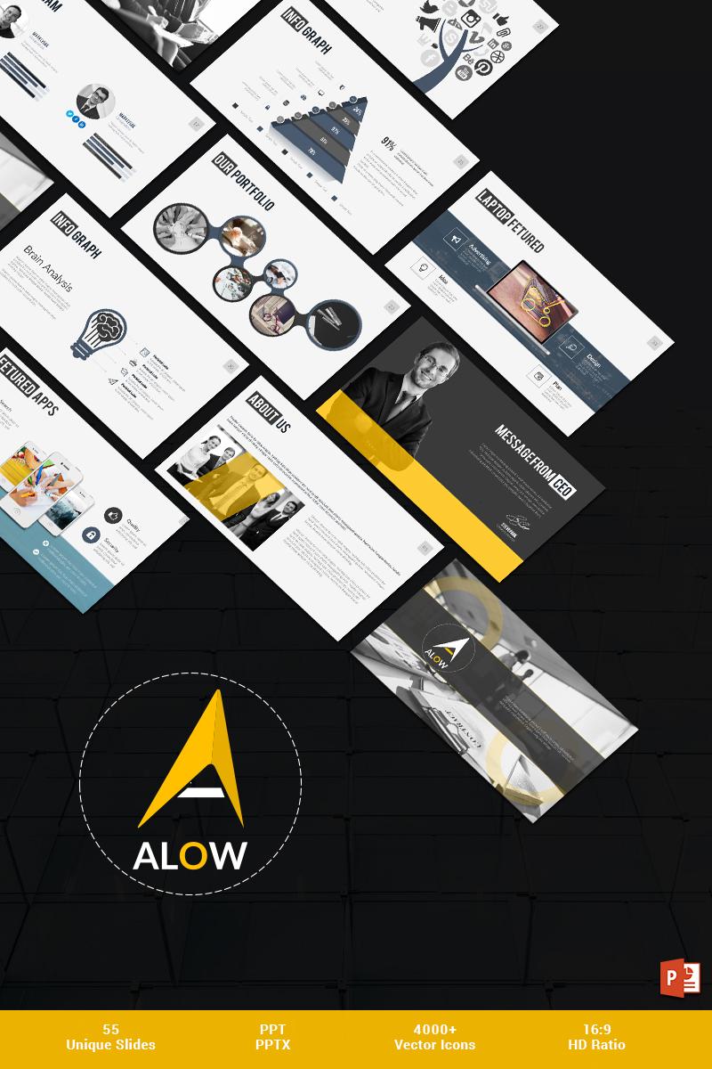 Allow PowerPoint Template Big Screenshot