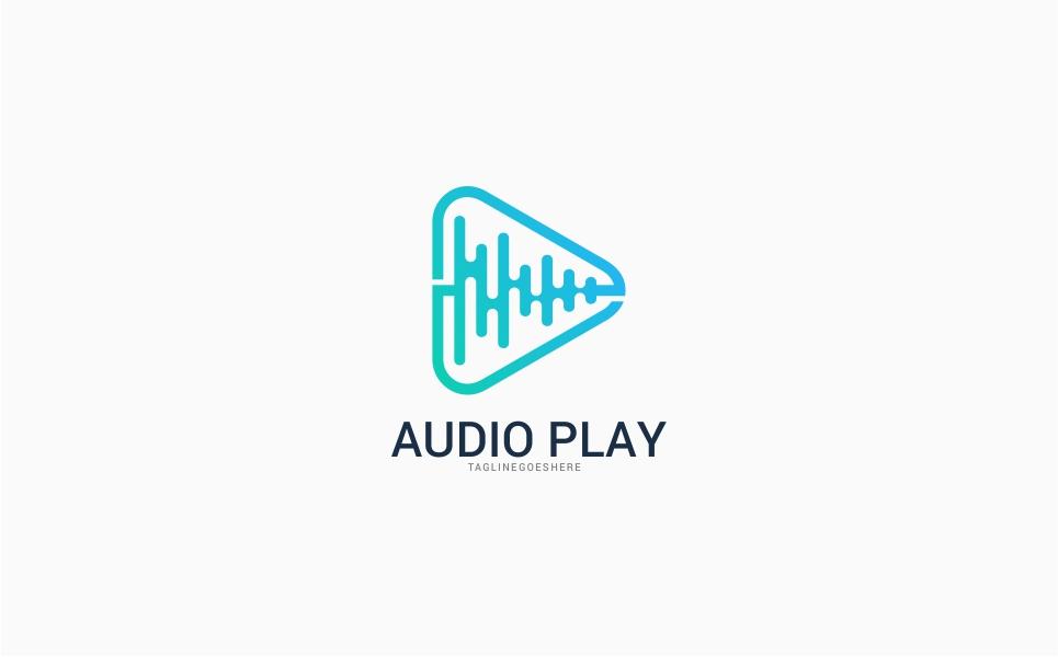 Audio Video Media Logo Template
