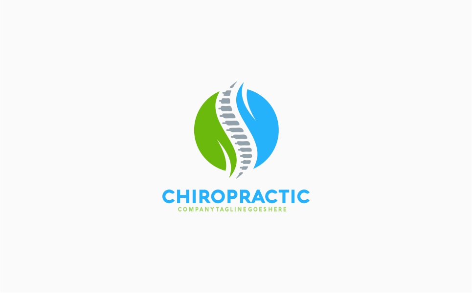 Chiropractic Recovery Logo Template