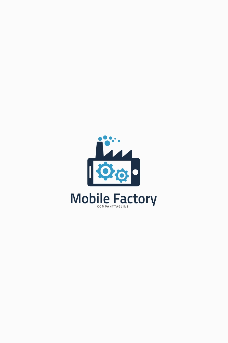 Mobile Factory - Logo Template Big Screenshot