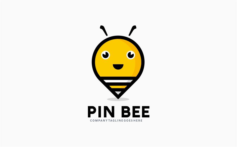 Pin Bee - Logo Template