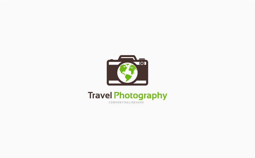 Travel Photography Logo Template
