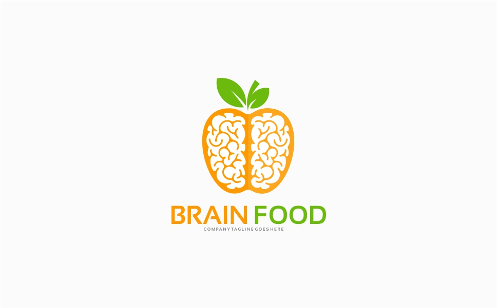 Brain Food Logo Template Logo Template Big Screenshot