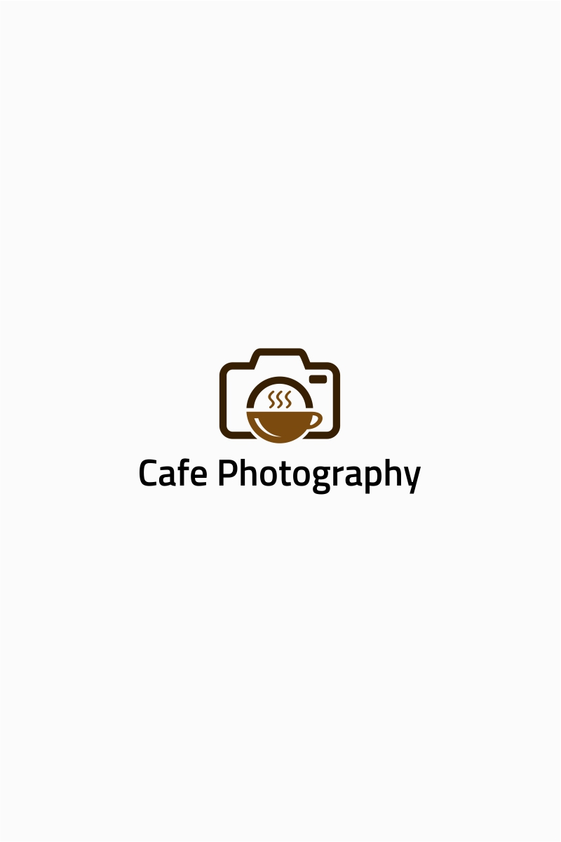 Cafe Food Photography Logo Template Logo Template