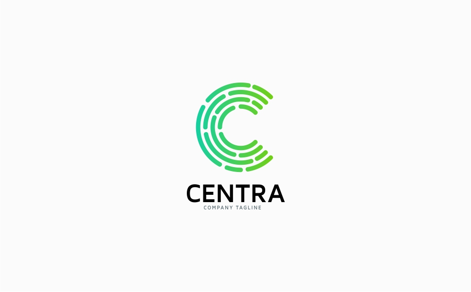 Letter C - Centra Logo Template