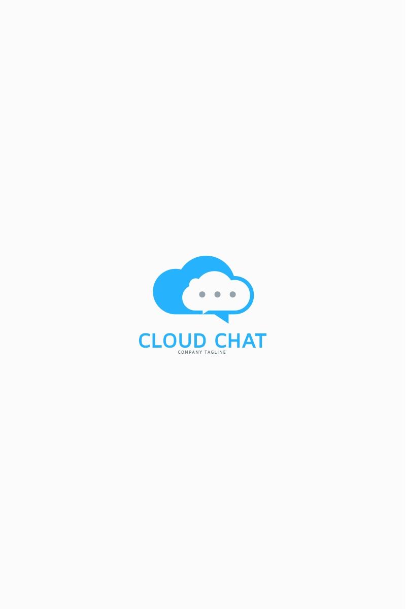 Cloud Chat Logo Template Big Screenshot