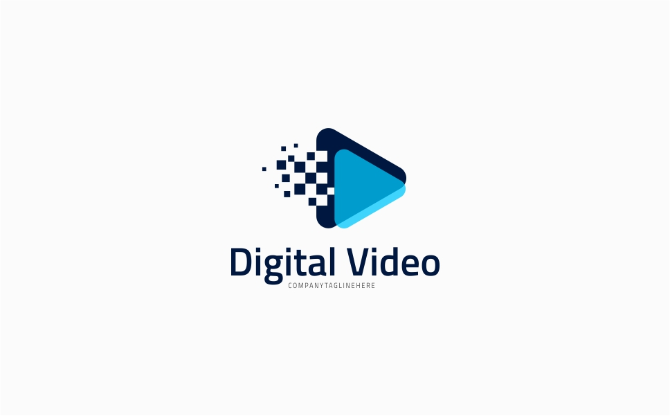 Digital Video Logo Template Logo Template