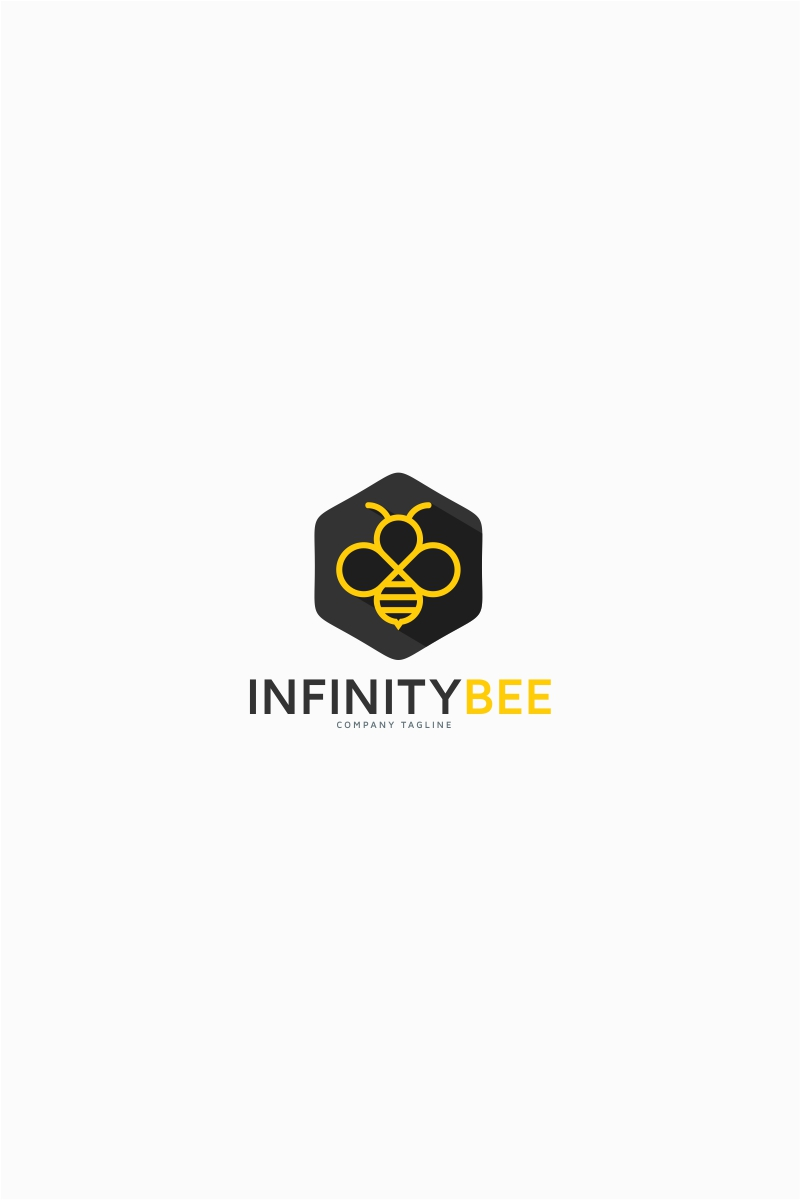 Infinity Bee Logo Template Big Screenshot