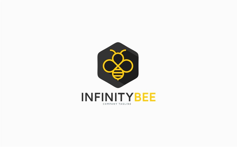 Infinity Bee Logo Template