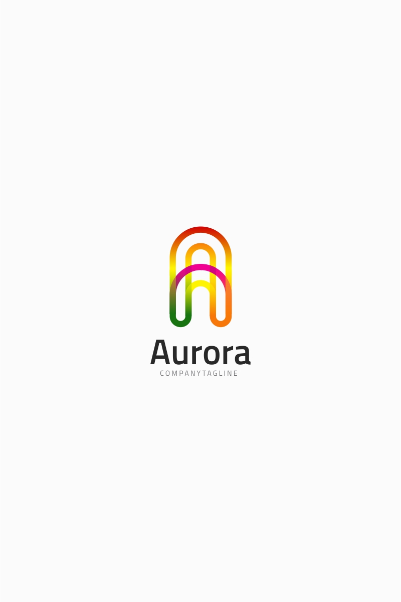 Letter A - Aurora Logo Template Big Screenshot