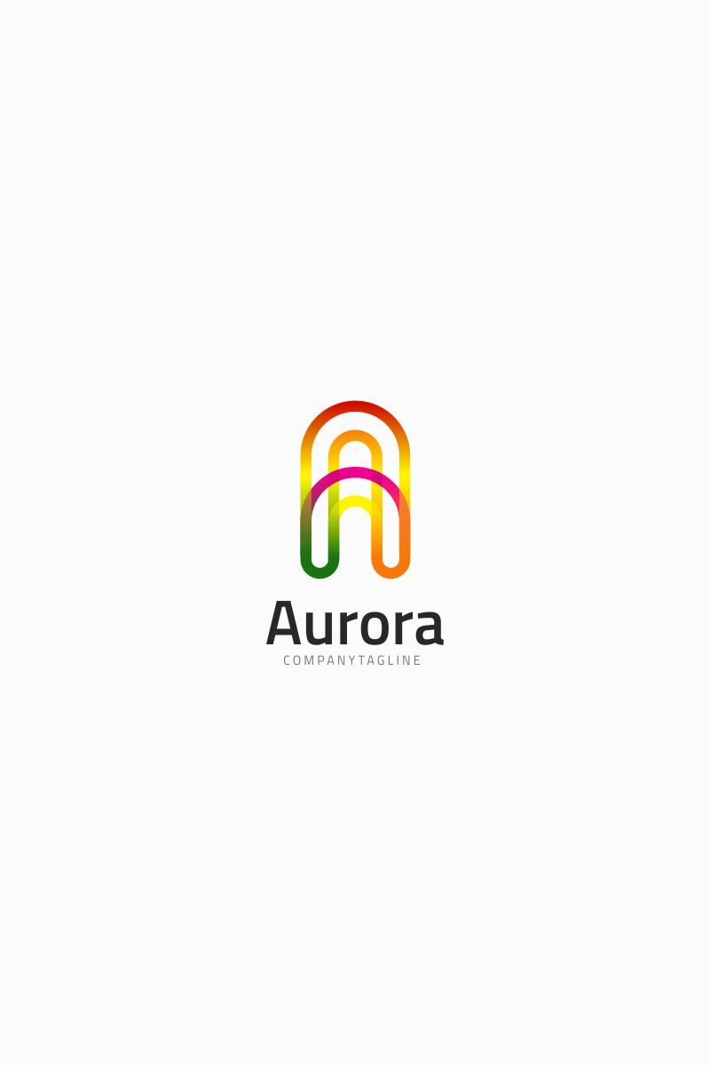Letter A - Aurora Logo Template