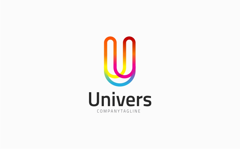 Letter U - Univers Logo Template Big Screenshot
