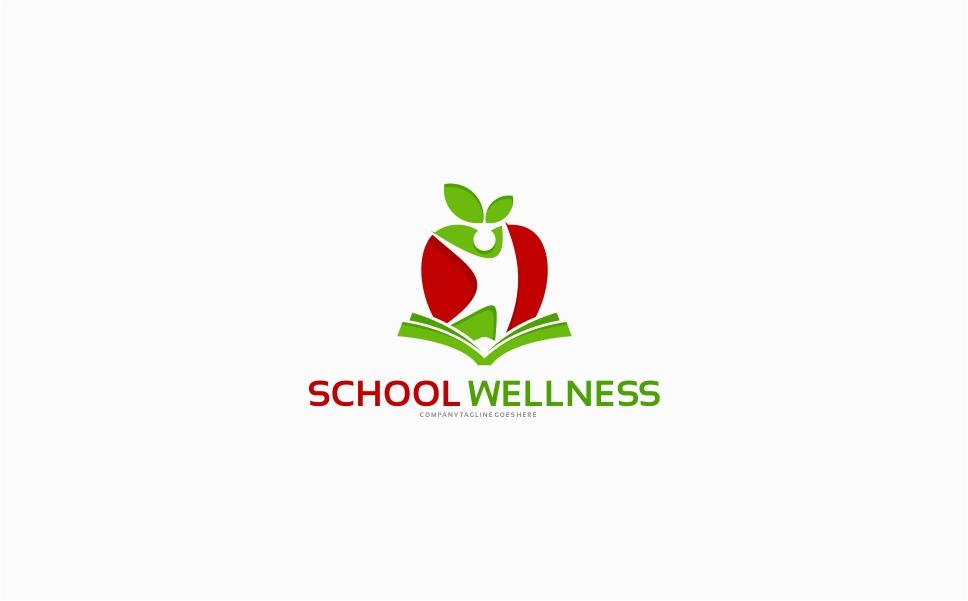 School Wellness Logo Template