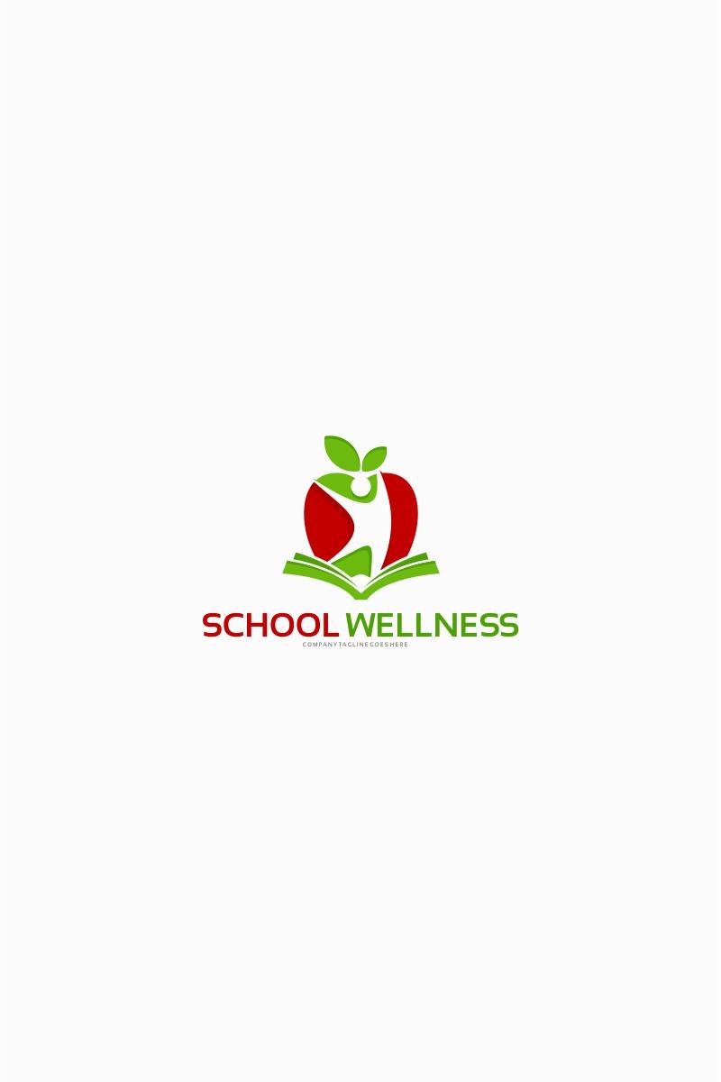 School Wellness Logo Template Big Screenshot