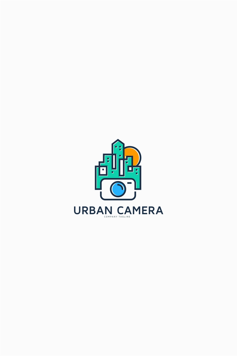 Urban City Camera Logo Template Logo Template