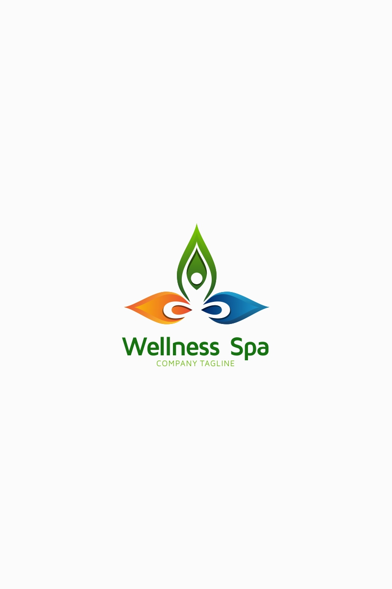 Wellness Spa Logo Template Logo Template