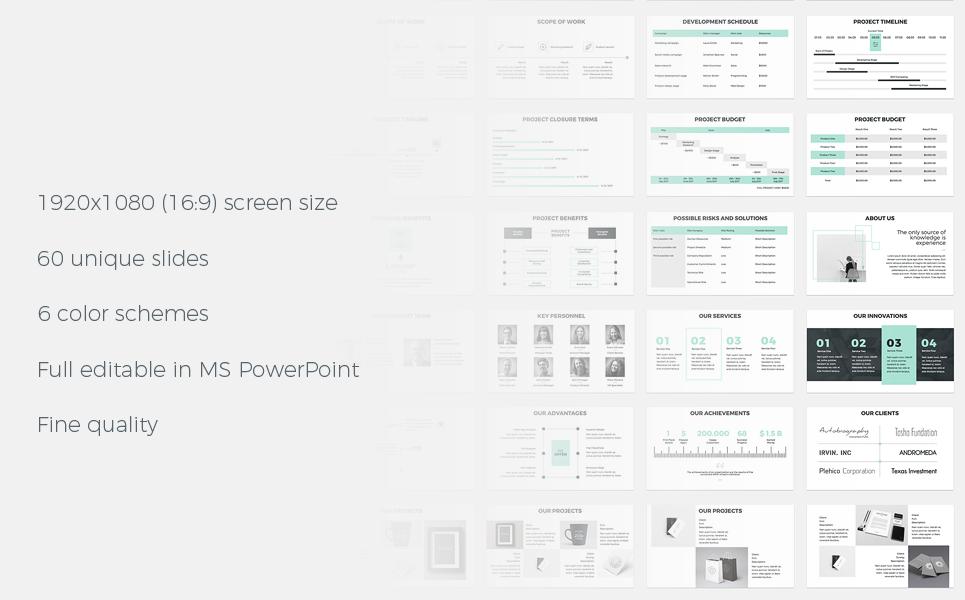Project Proposal - PowerPoint Presentation Template Big Screenshot