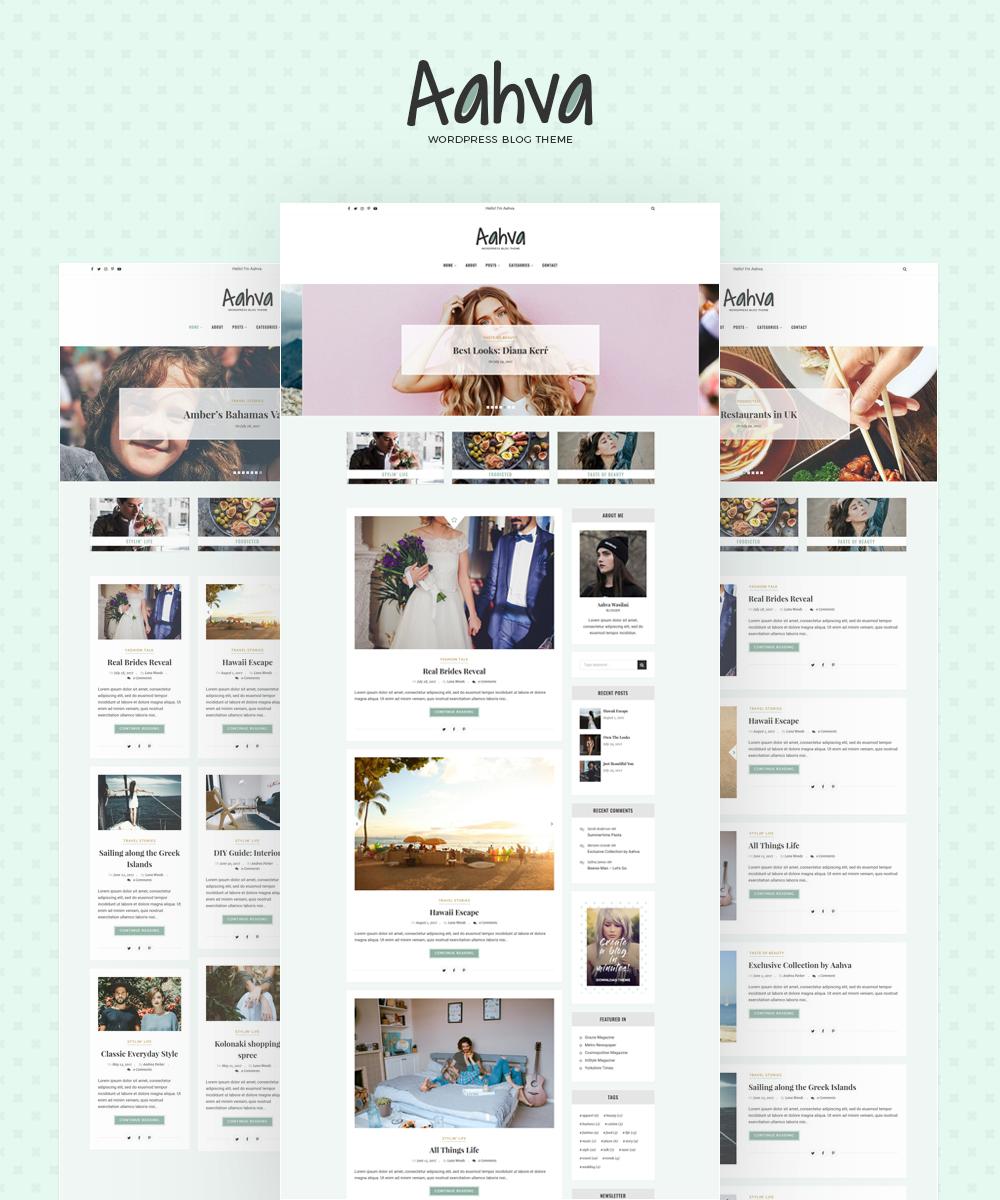 Reszponzív Divat  WordPress sablon Nagy méretű képernyőkép
