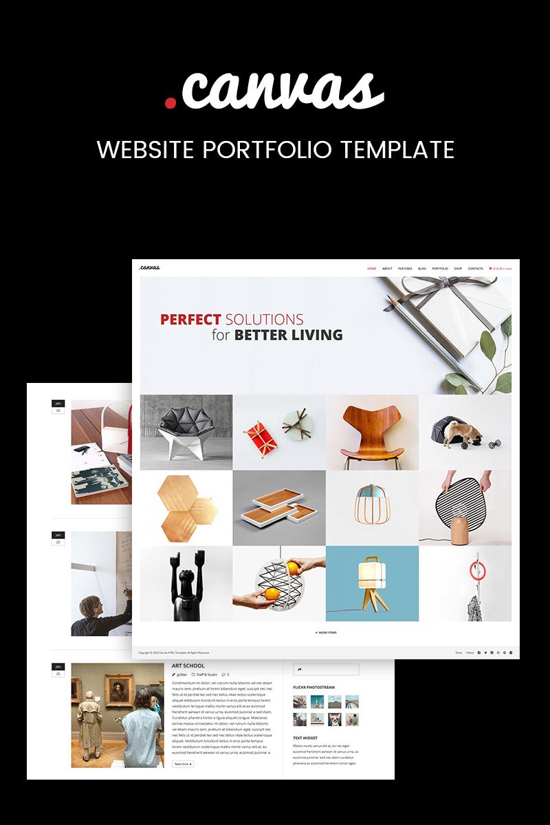 Modèle Web  pour site de design intérieur Grande capture d'écran