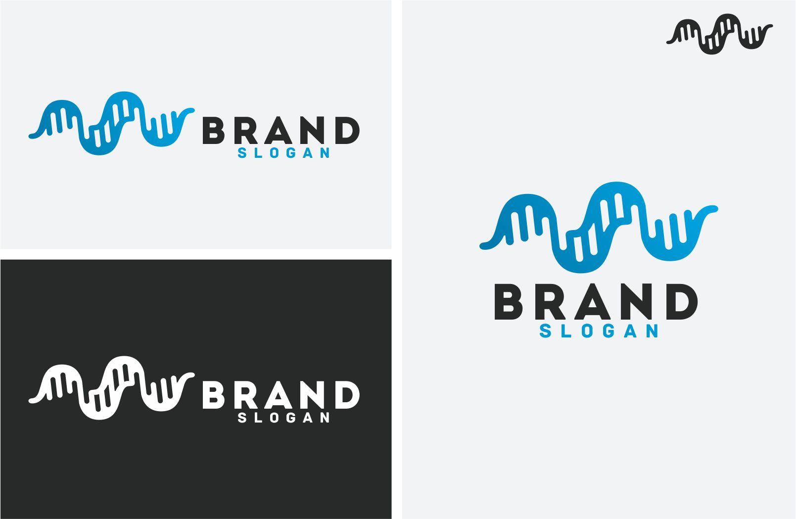 DNA Logo Template Big Screenshot