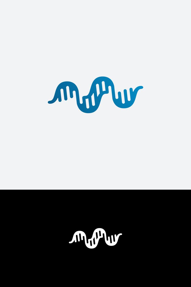 DNA Logo Template