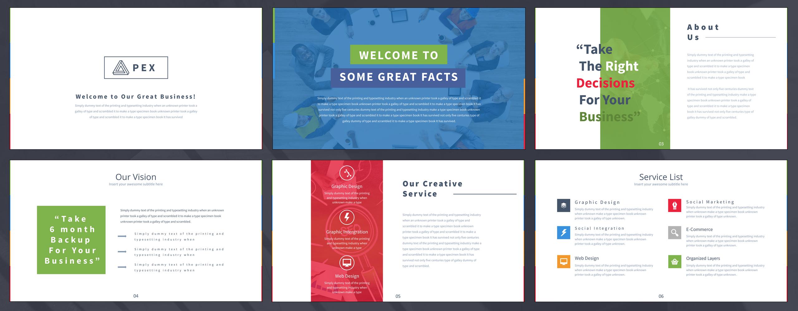 Apex - PowerPoint Presentation Template