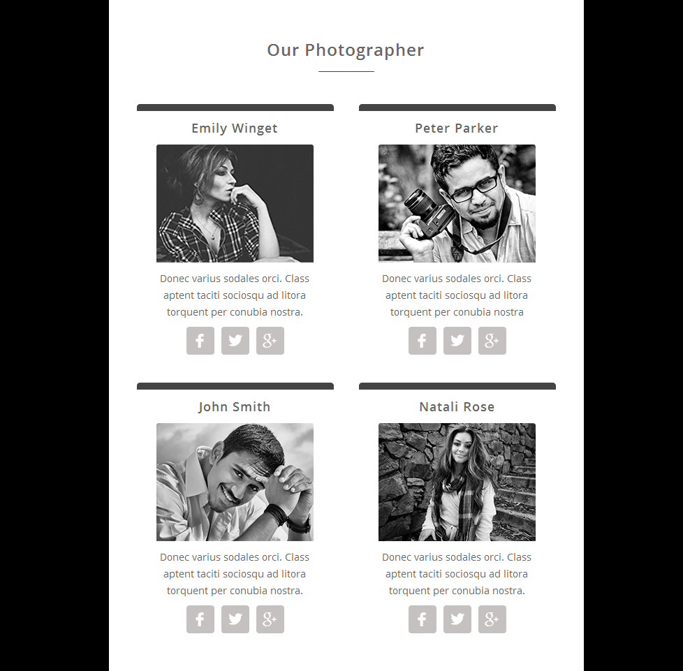 iPhoto - Responsive Email Template Newsletter Template