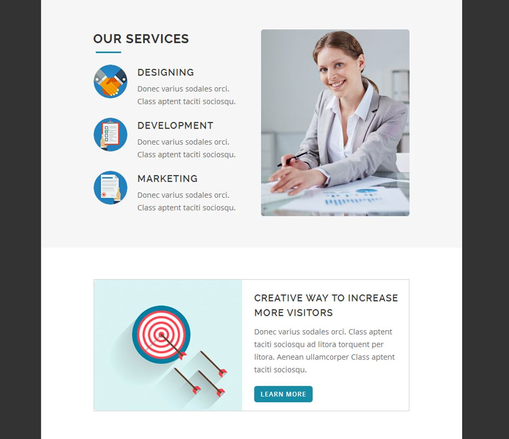 Corporate Business  Responsive Newsletter Template