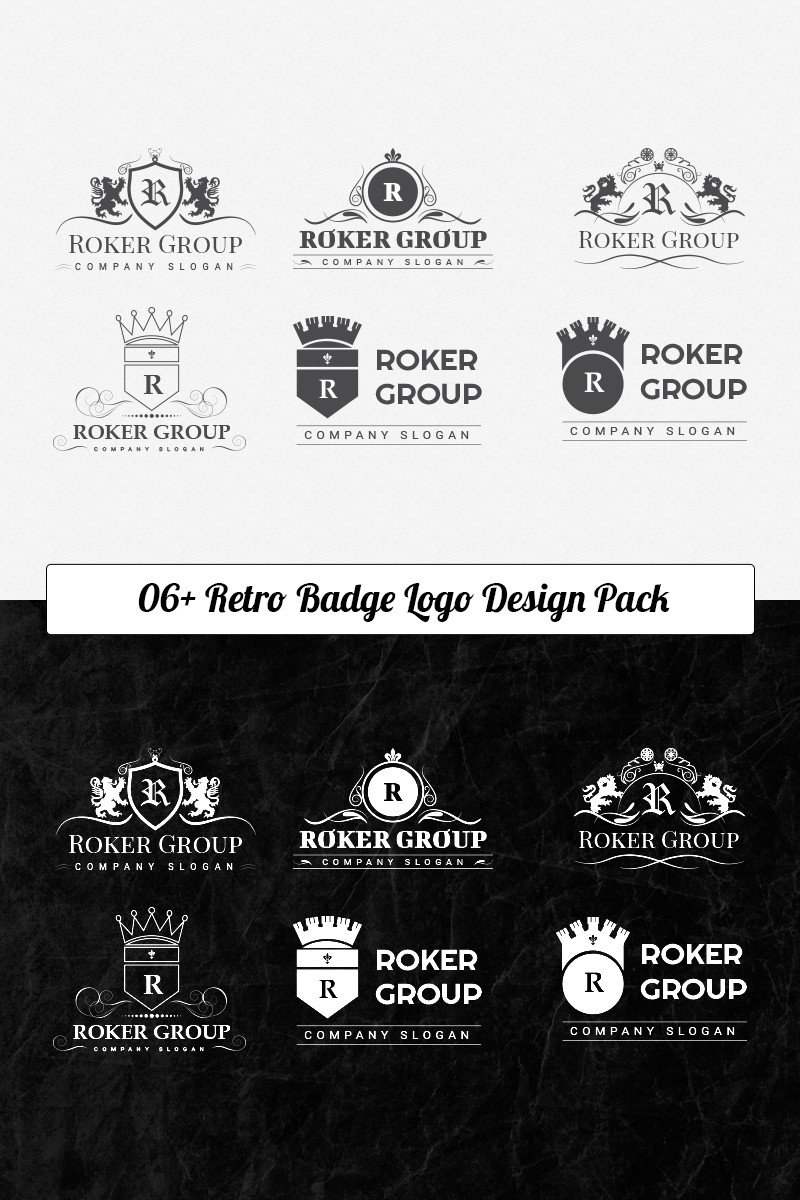 Roker Logo Template Logo Template Big Screenshot