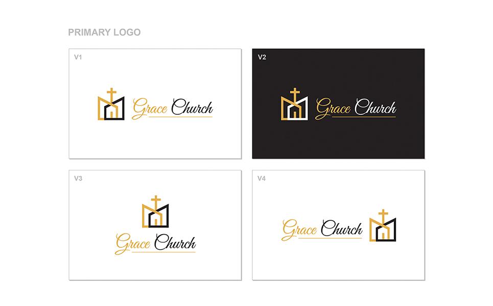 Church Logo Template Big Screenshot