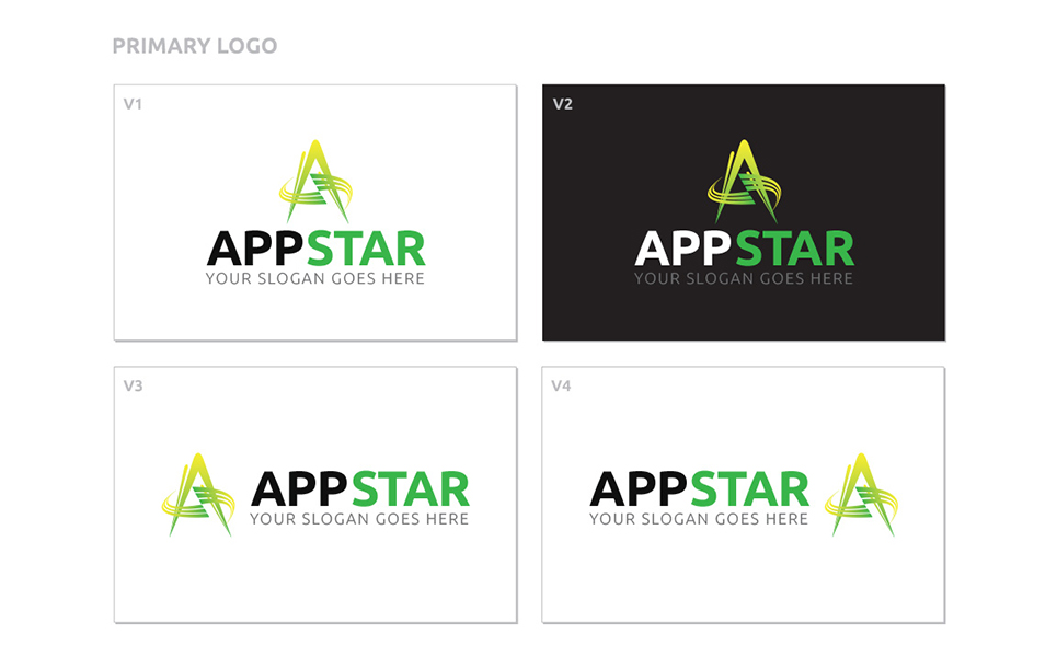 AppStar Logo Template Big Screenshot