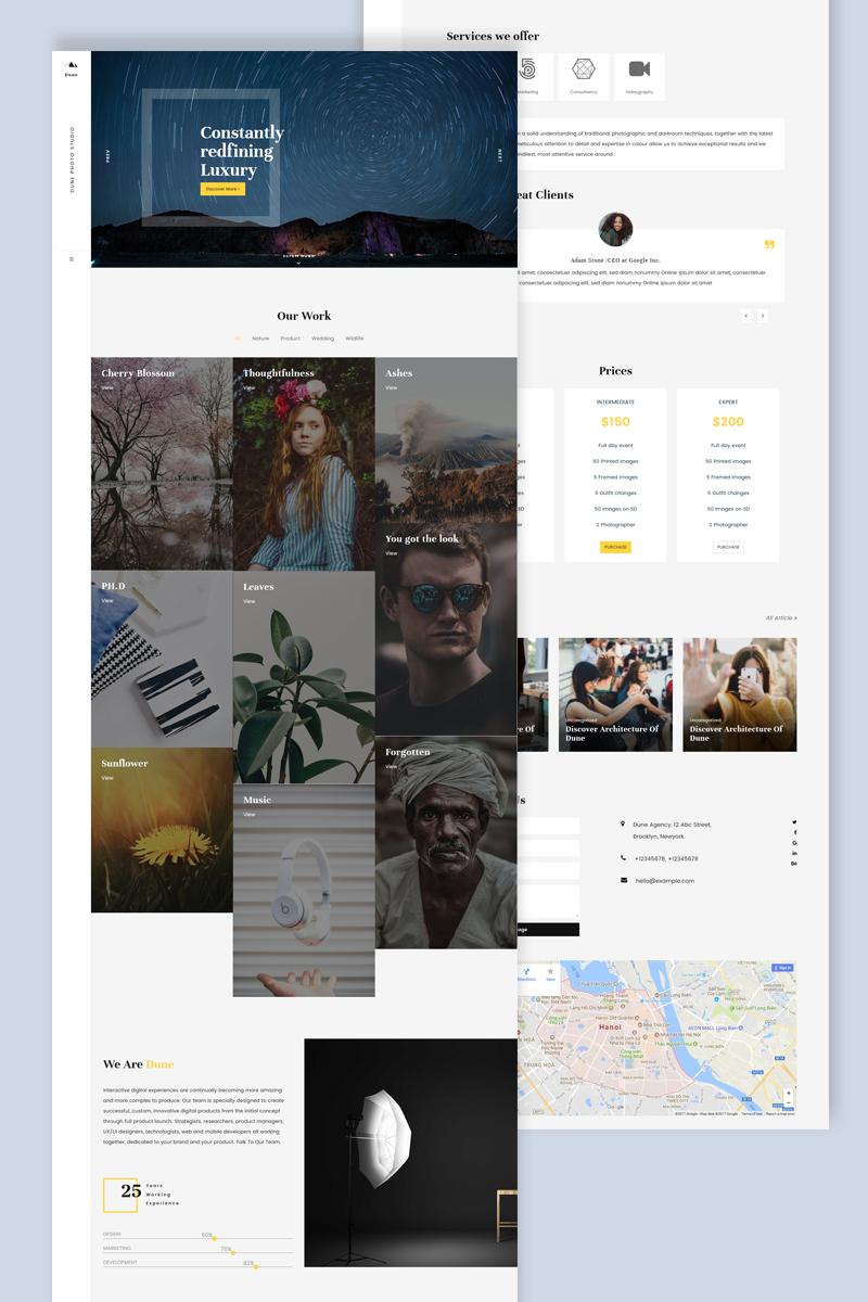 Dune WordPress Theme Big Screenshot