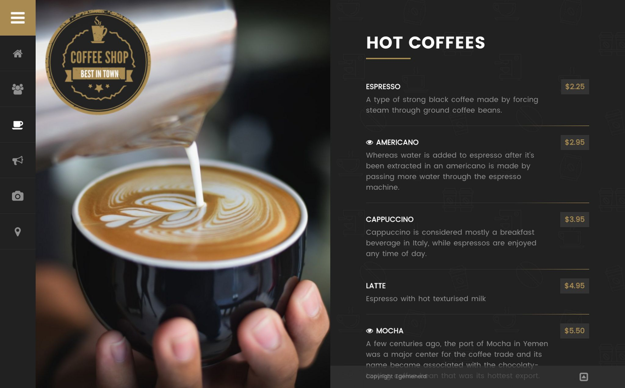 Coffee Shop - Cafe Bar Pub Restaurant WordPress Theme
