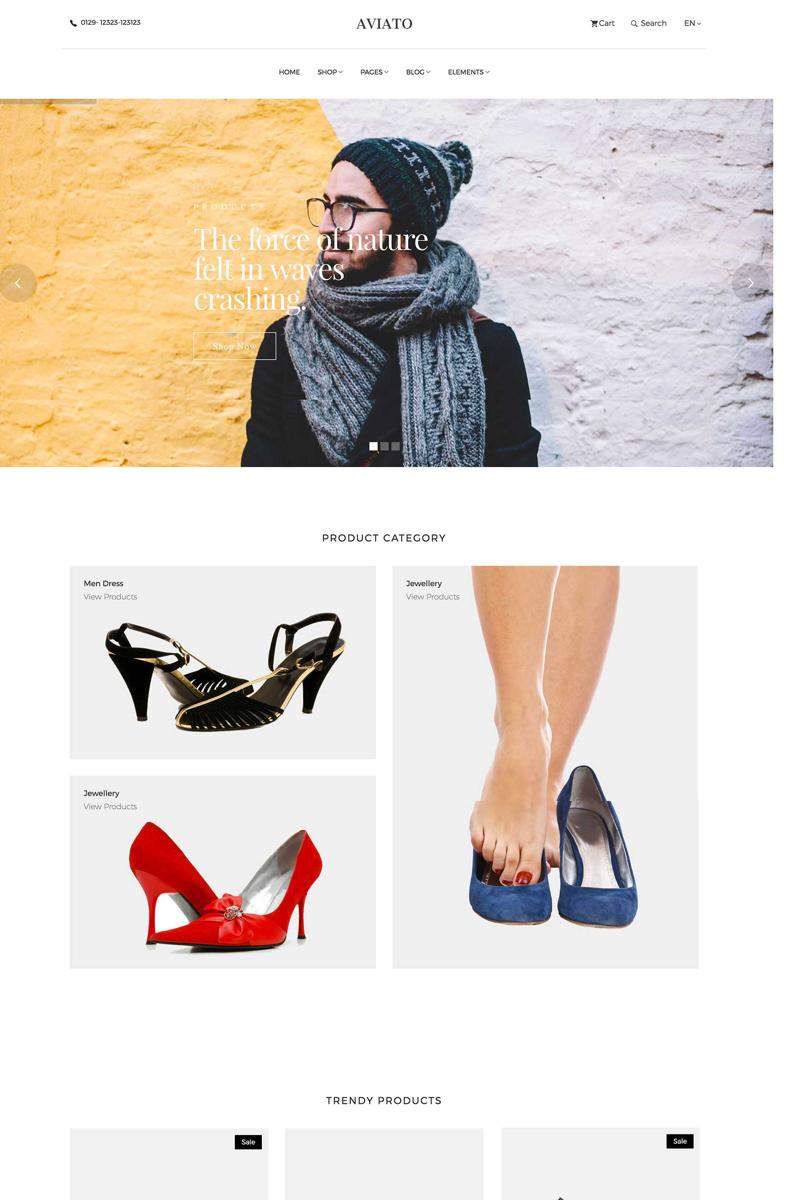 Šablona webových stránek Móda a krása Velký screenshot