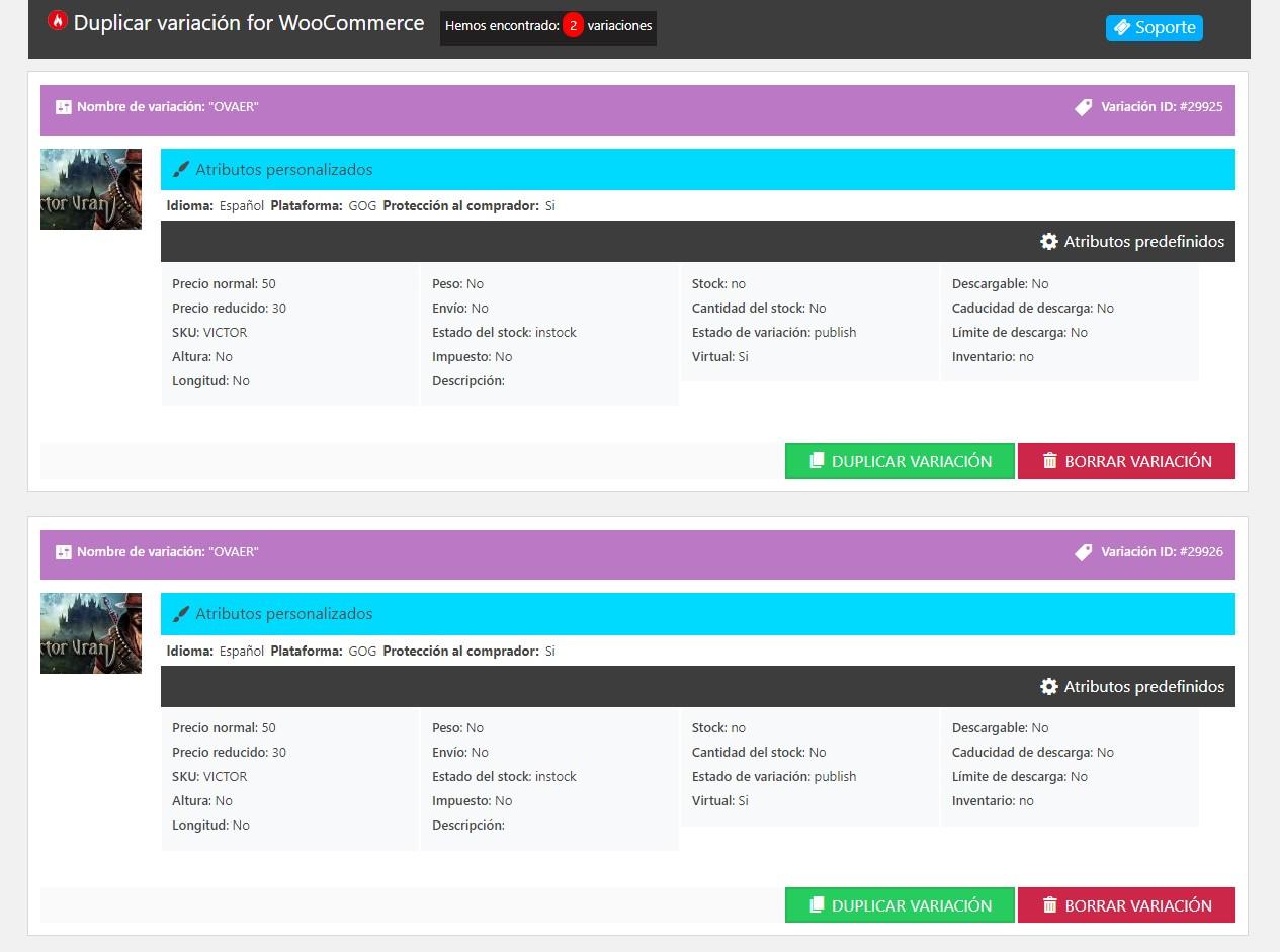 WordPress plugin för  elektronikbutik En stor skärmdump