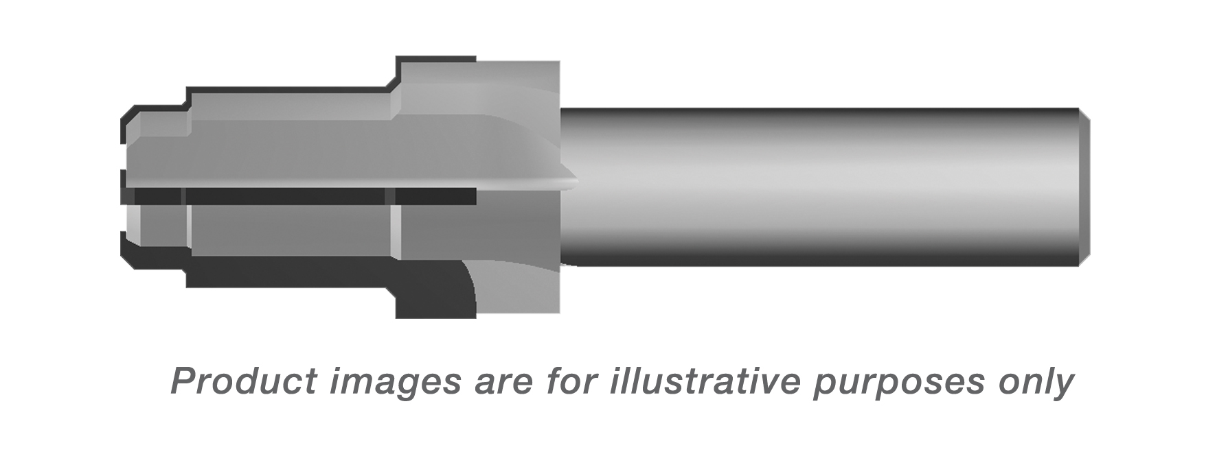 PORT TOOL CARBIDE TIPPED 1.8750-12UNJ-3B THREAD 1-1/4 TUBE (1.25 SHANK DIA. 4.63 OAL) ALTiN COATED