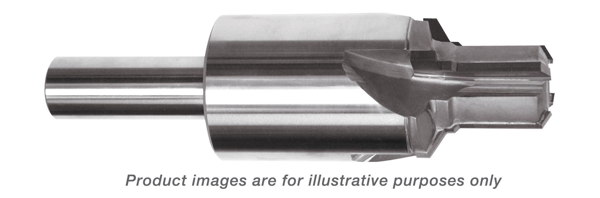 REAMER PILOT PORT TOOL CARBIDE TIPPED 3/8-24 THREAD (3/16 TUBE) 5.100 OAL (ALSO FOR AS5202) - 4 FLUTES ALTiN COATED