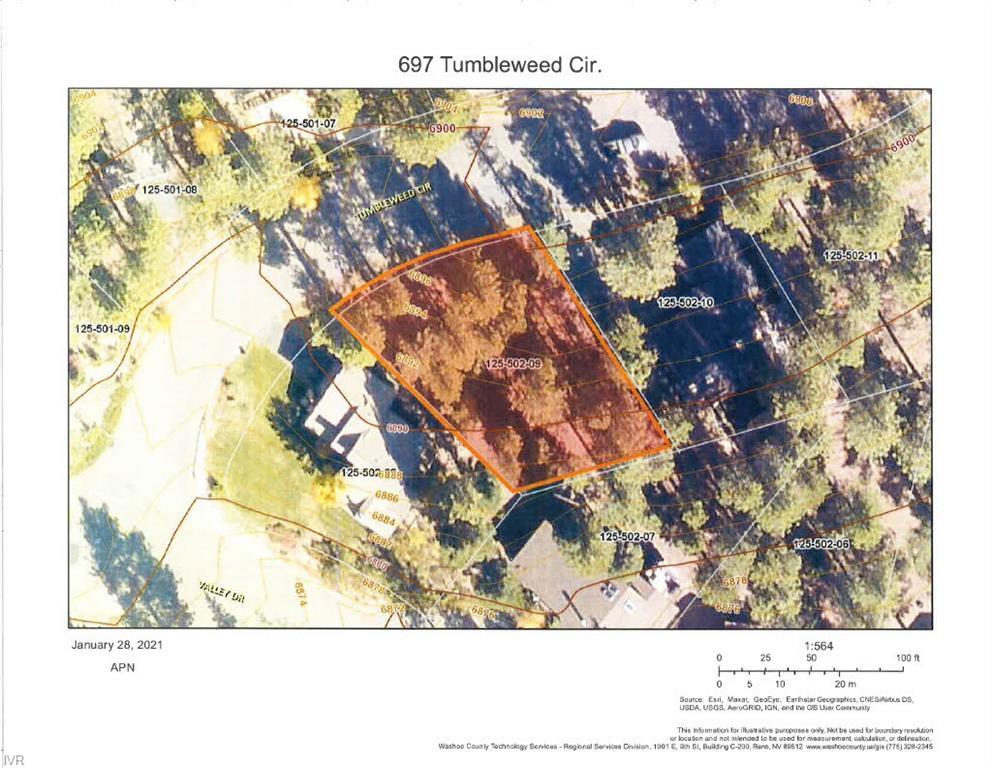 Image for 697 Tumbleweed Circle, Incline Village, NV 89451