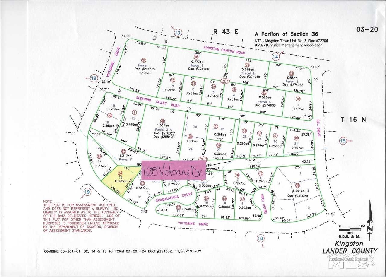 Image for 108 Victorine Drive, Kingston, NV 89310