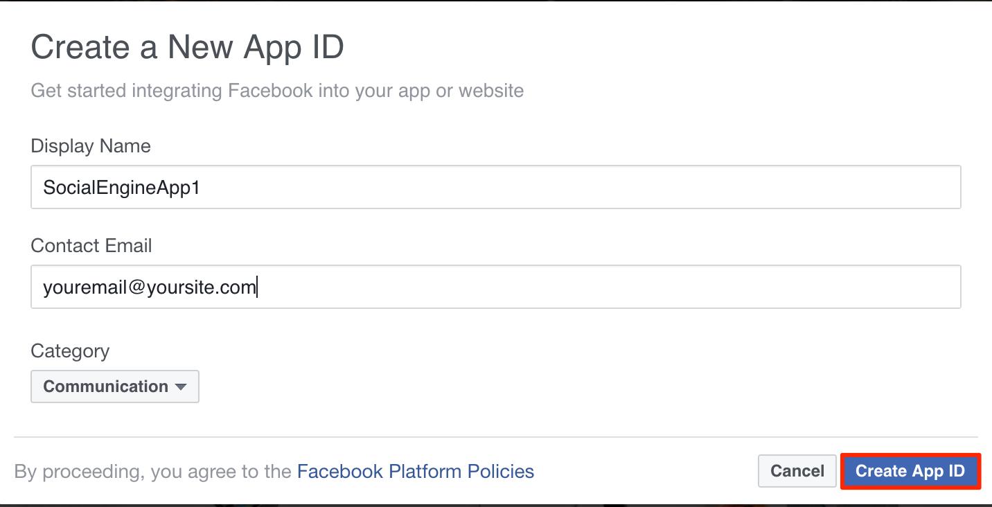 Facebook Integration - SocialEngine PHP - Admin Panel