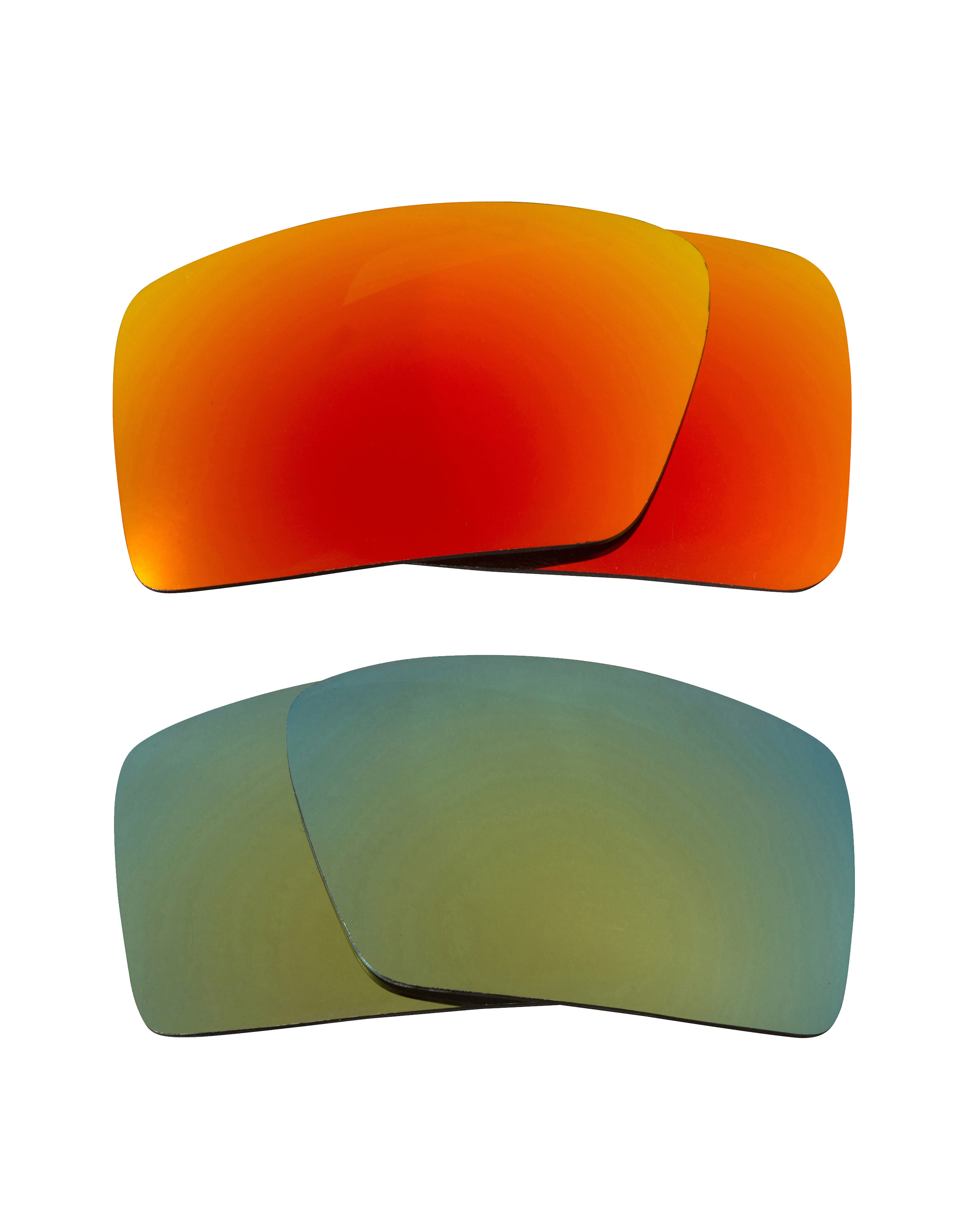 7f9d65b4b8b Eyepatch 1 Replacement Lenses Yellow   Green by SEEK fits OAKLEY Sunglasses