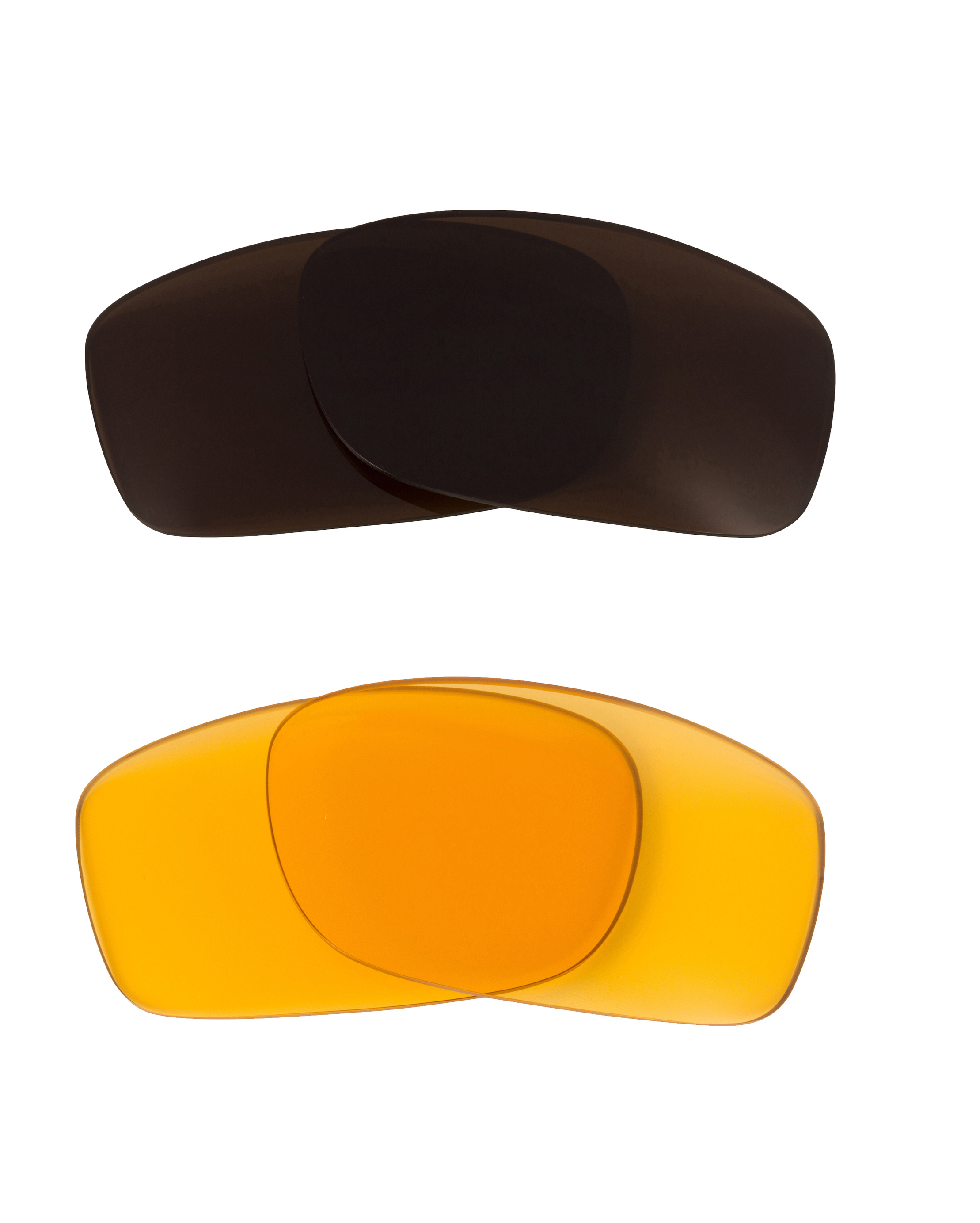 3cd7dafd8f Fives 3.0 Replacement Lenses Hi Yellow   Bronze Brown by SEEK fits OAKLEY