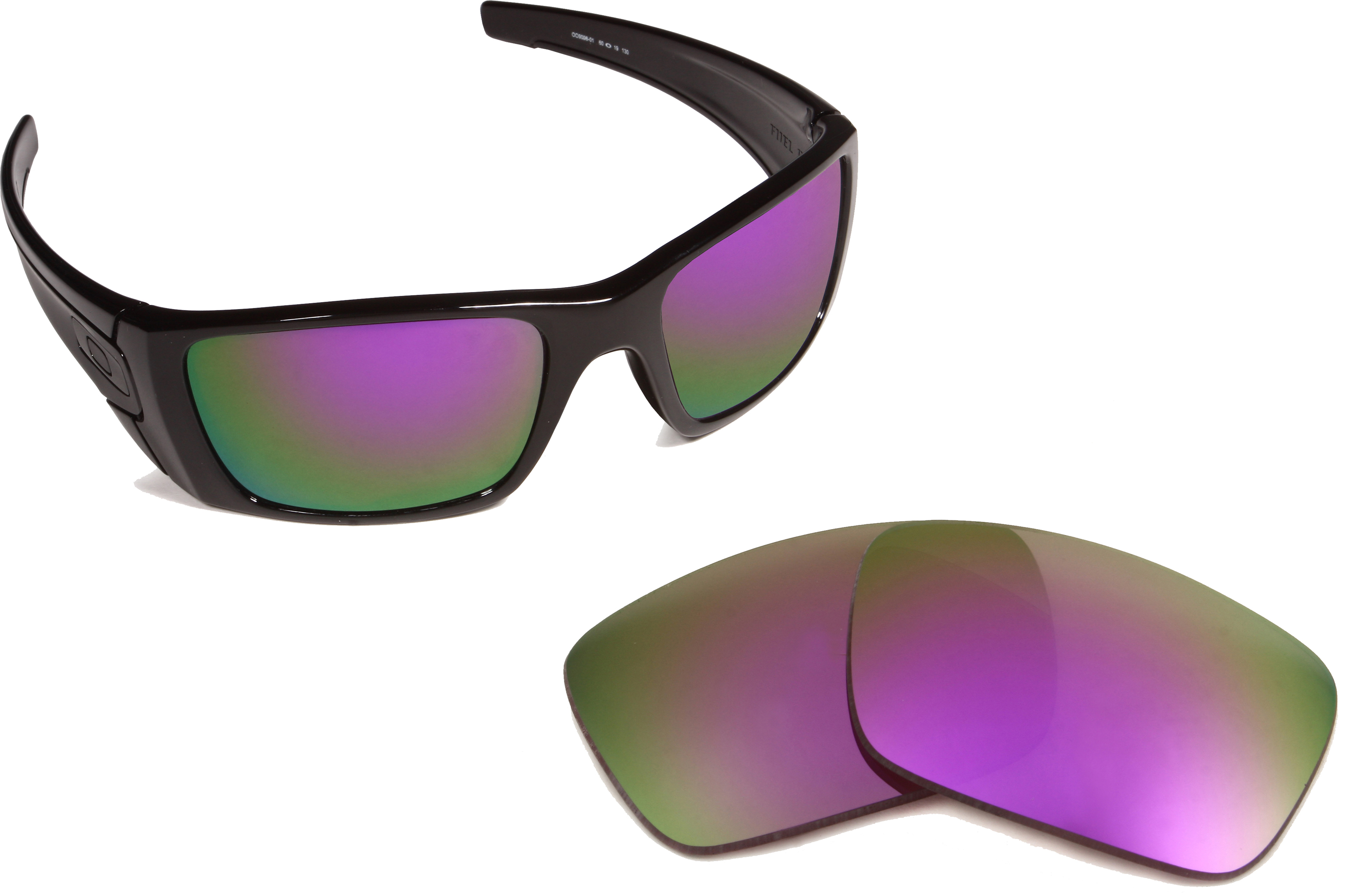 ac8a852b98 Oakley Fuel Cell - Deep Purple Mirror Polarized - Seek Optics