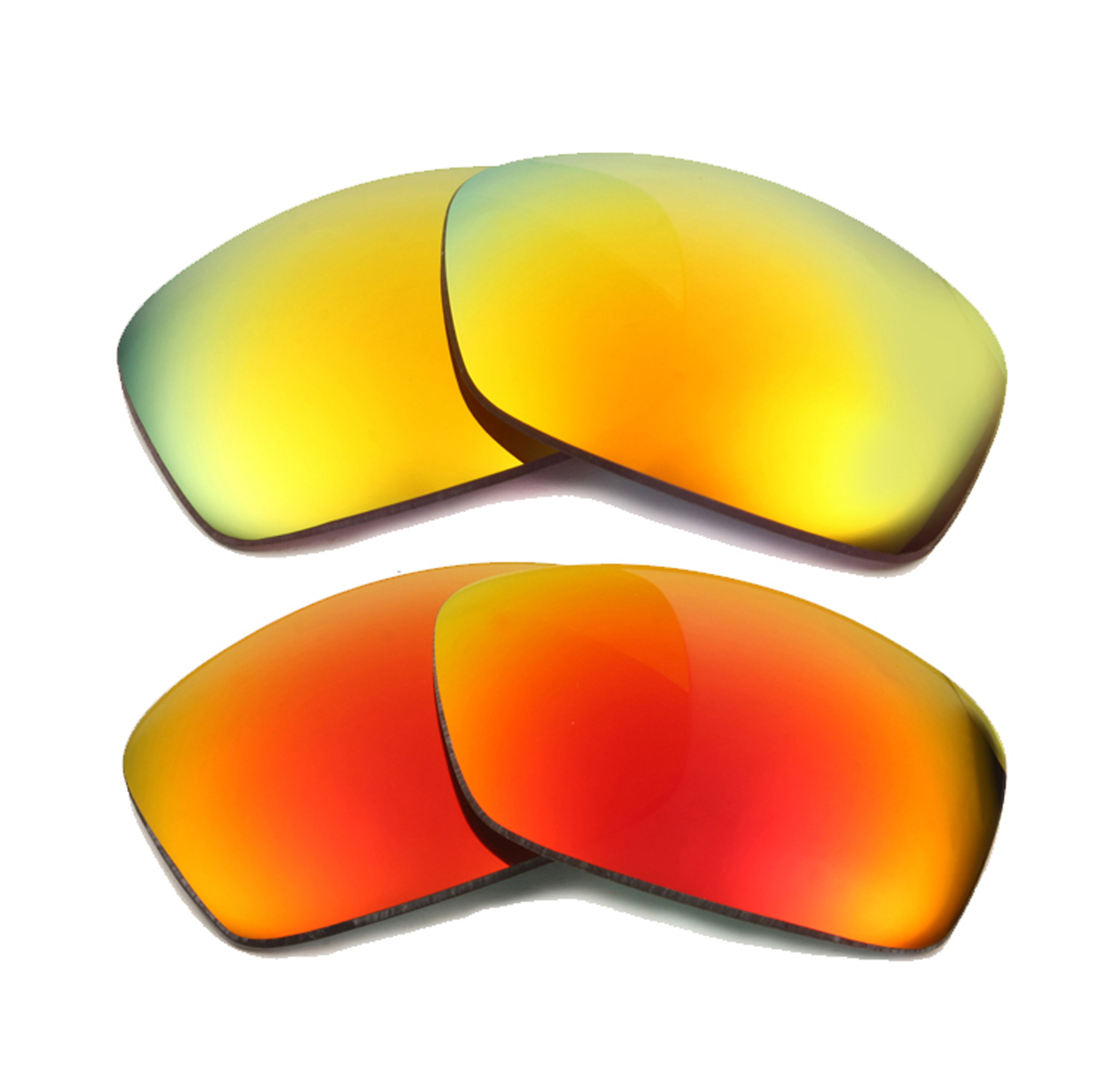 dce0f1b9fb8 HIJINX Replacement Lenses Red   Yellow by SEEK fits OAKLEY Sunglasses